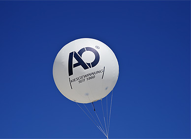 August Oppermann Luftballon